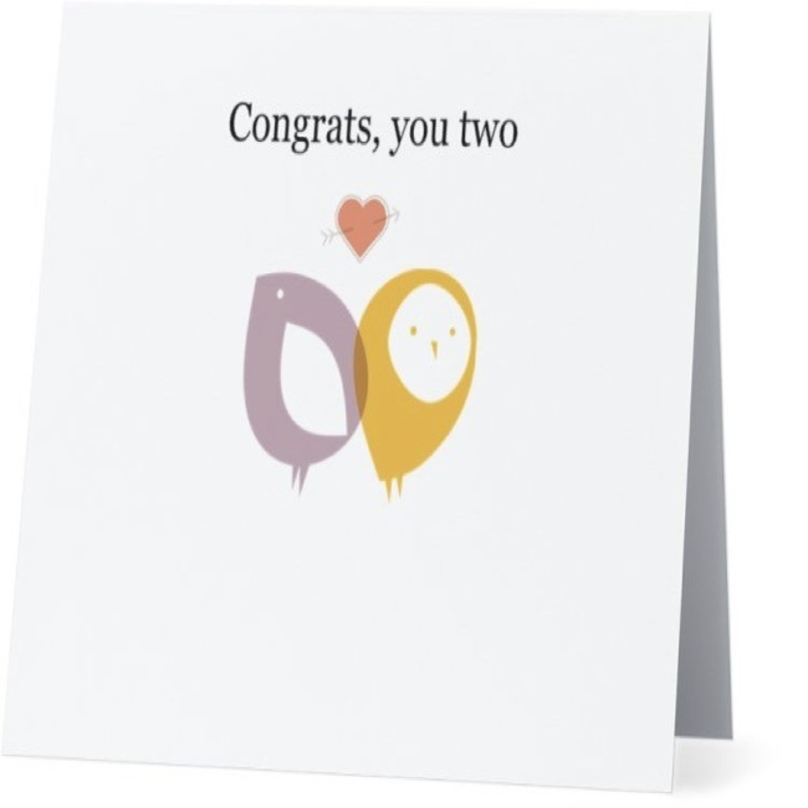 Bad Annie's Card #003 - Congrats You Two