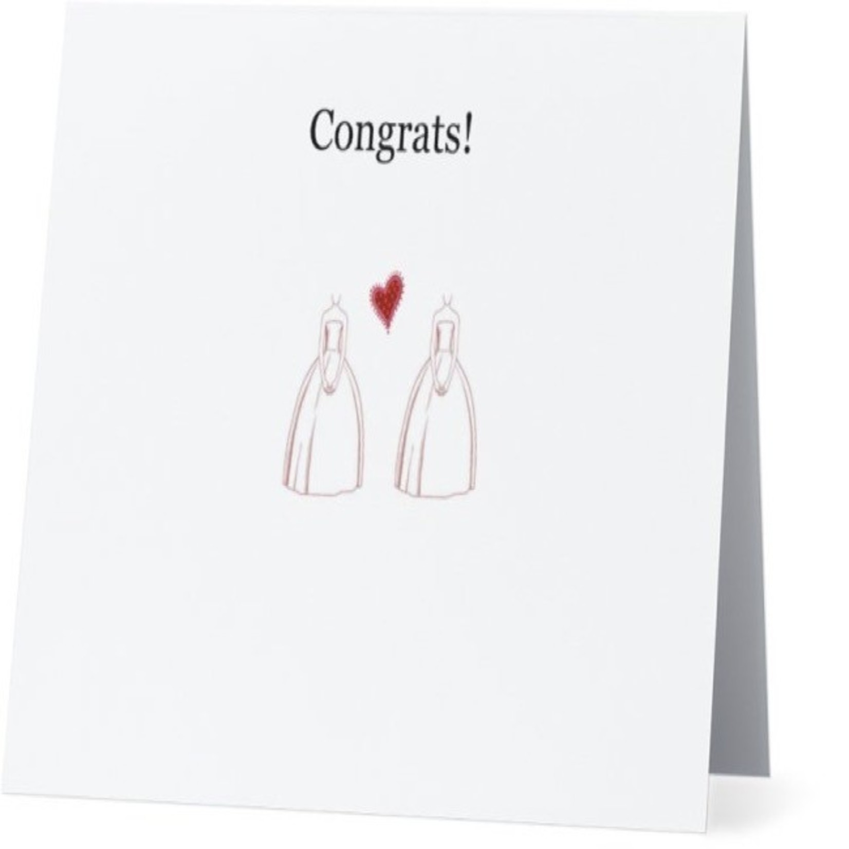 Bad Annie's Card #001 - Wedding Dresses (2 Gals)