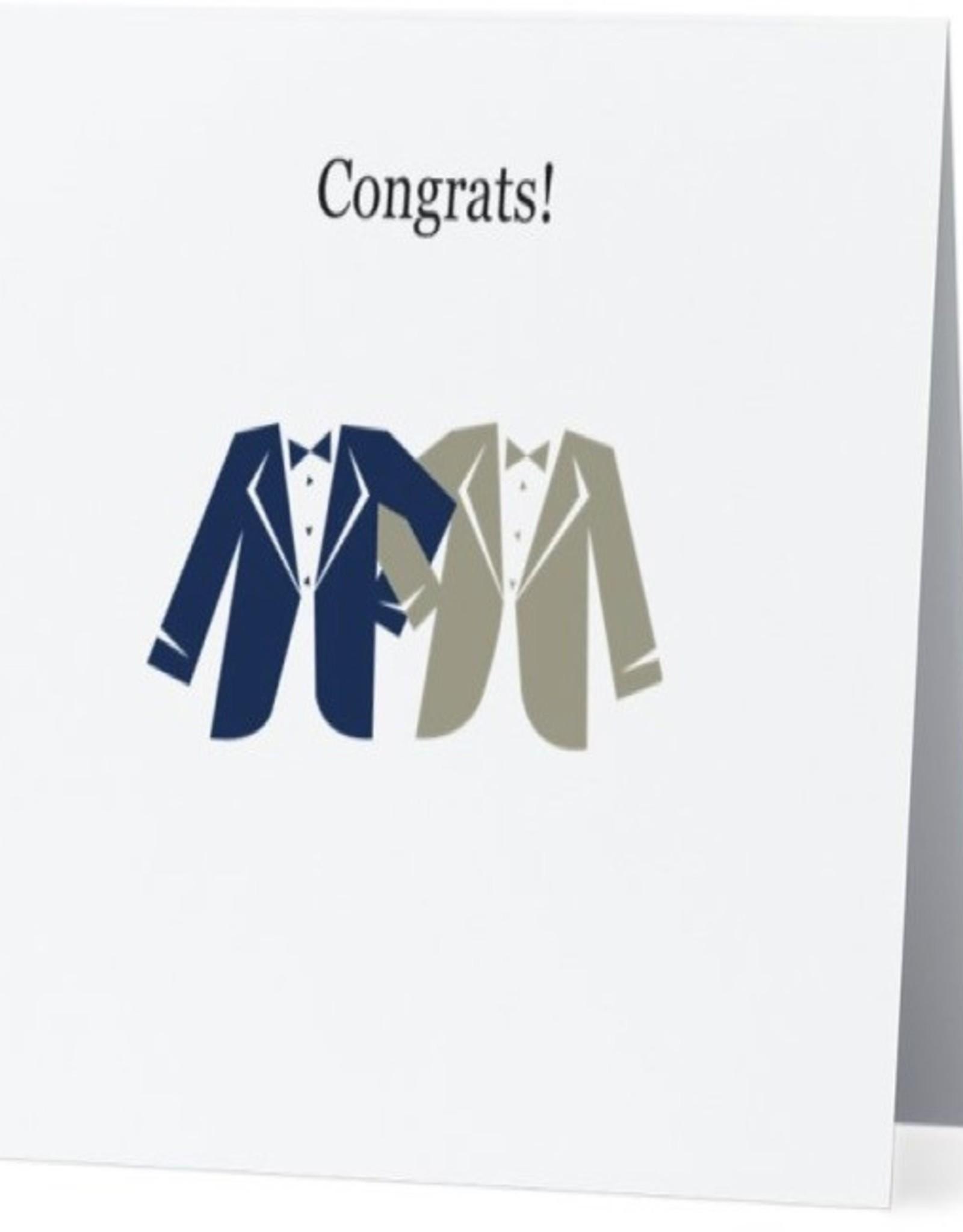 Card #002 - Wedding Tuxes (2 Fellas)