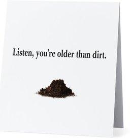 Annies Card #017 - Older Than Dirt
