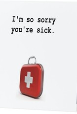 Card #024 - So Sorry Your Sick
