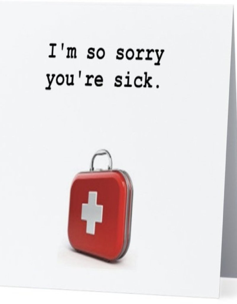Annies Card #024 - So Sorry Your Sick