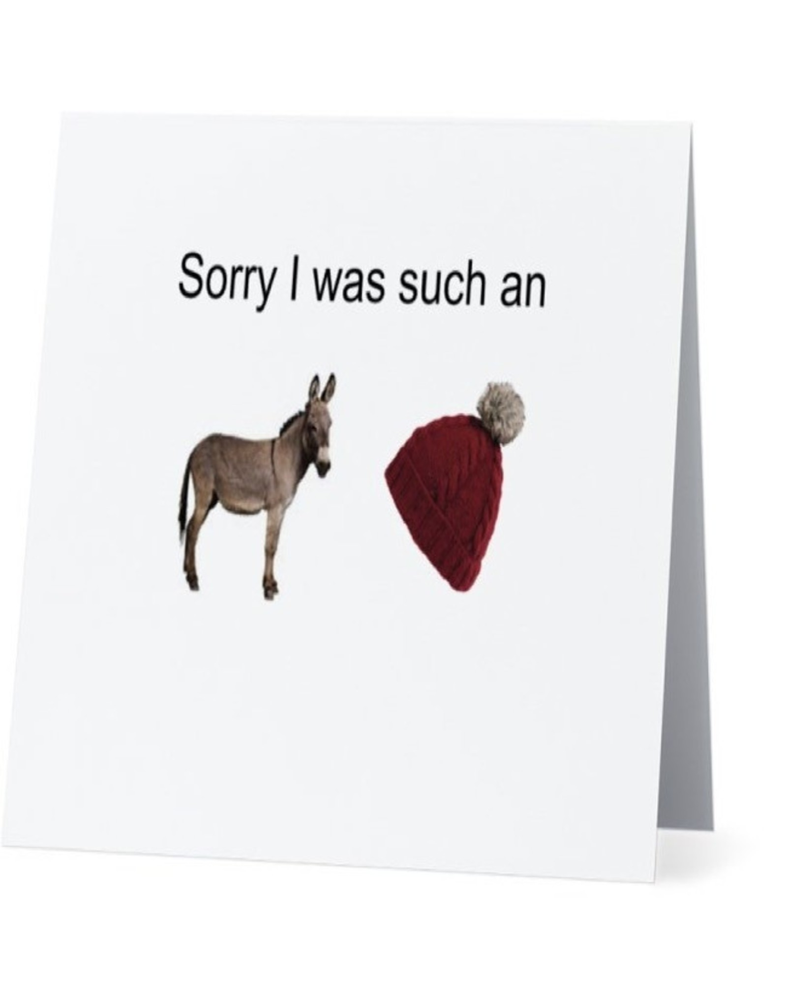 Card #026 - Sorry I Was An Asshat