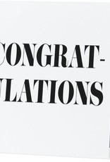Annies Card #042 - Congratulations Fancy