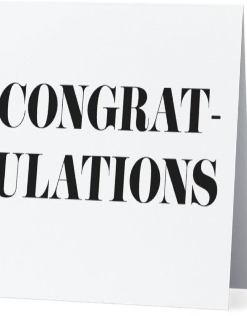 Card #042 - Congratulations Fancy