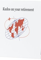 Annies Card #040 - Kudos On Your Retirement