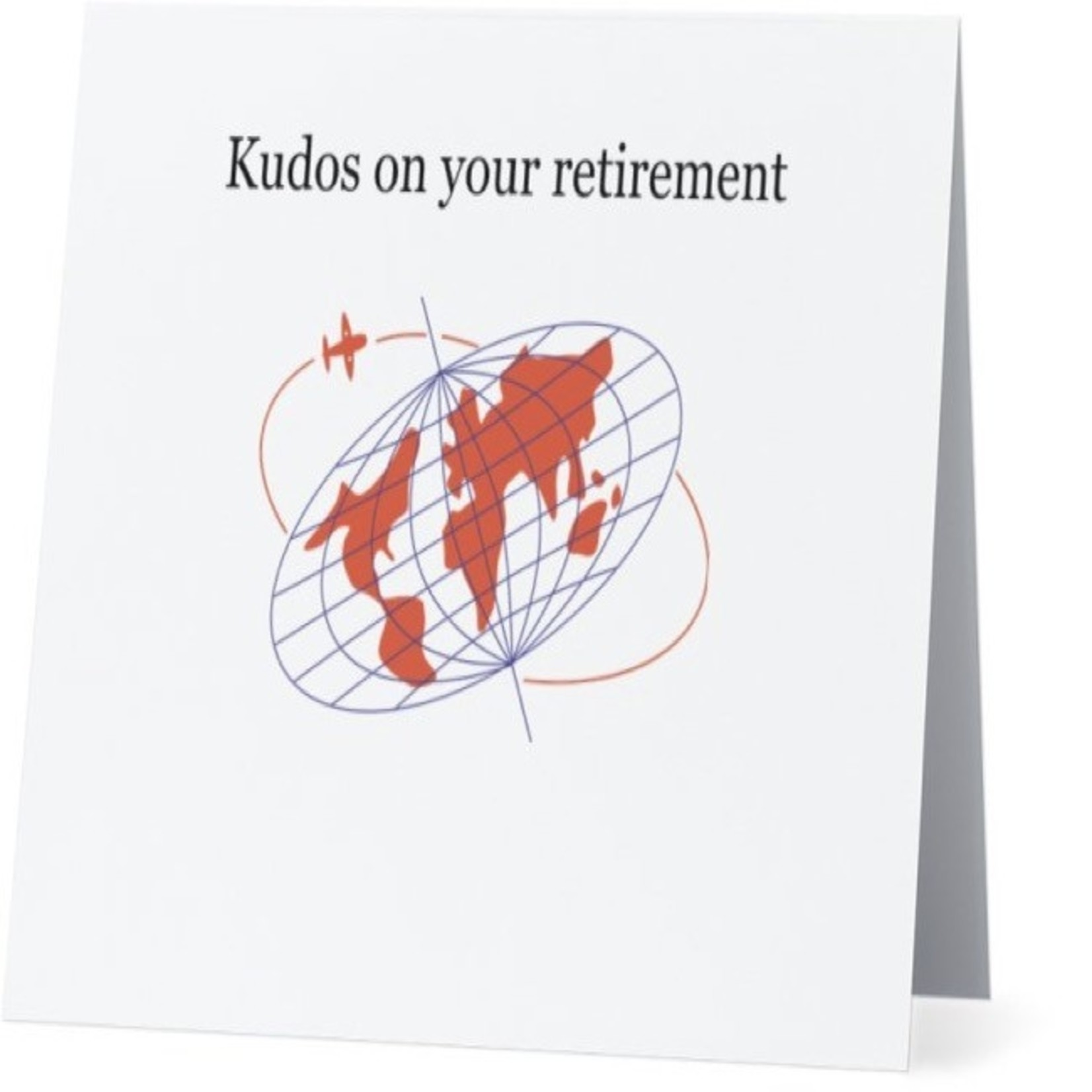 Bad Annie's Card #040 - Kudos On Your Retirement