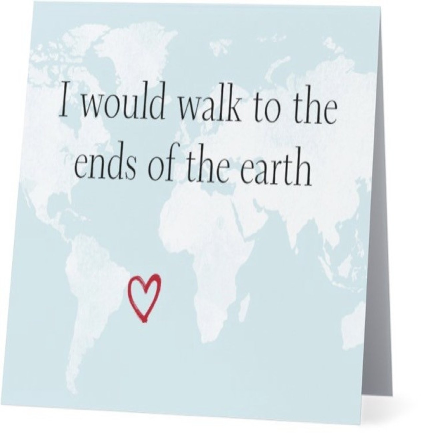 Bad Annie's Card #009 - Walk To End Of The Earth