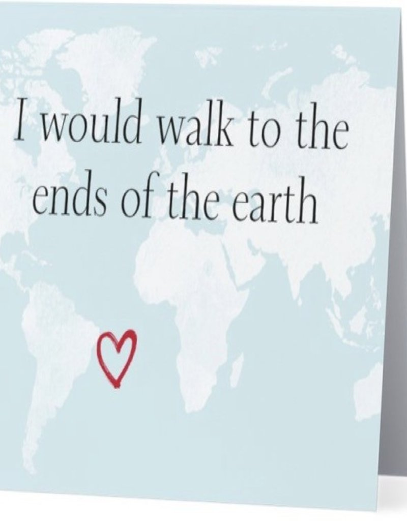 Card #009 - Walk To End Of The Earth