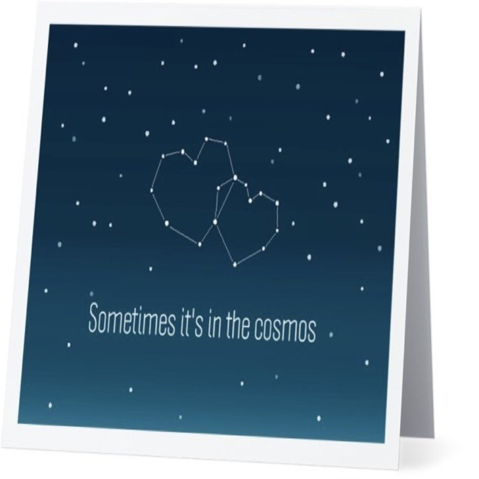 Bad Annie's Card #010 - Sometimes Its In The Cosmos
