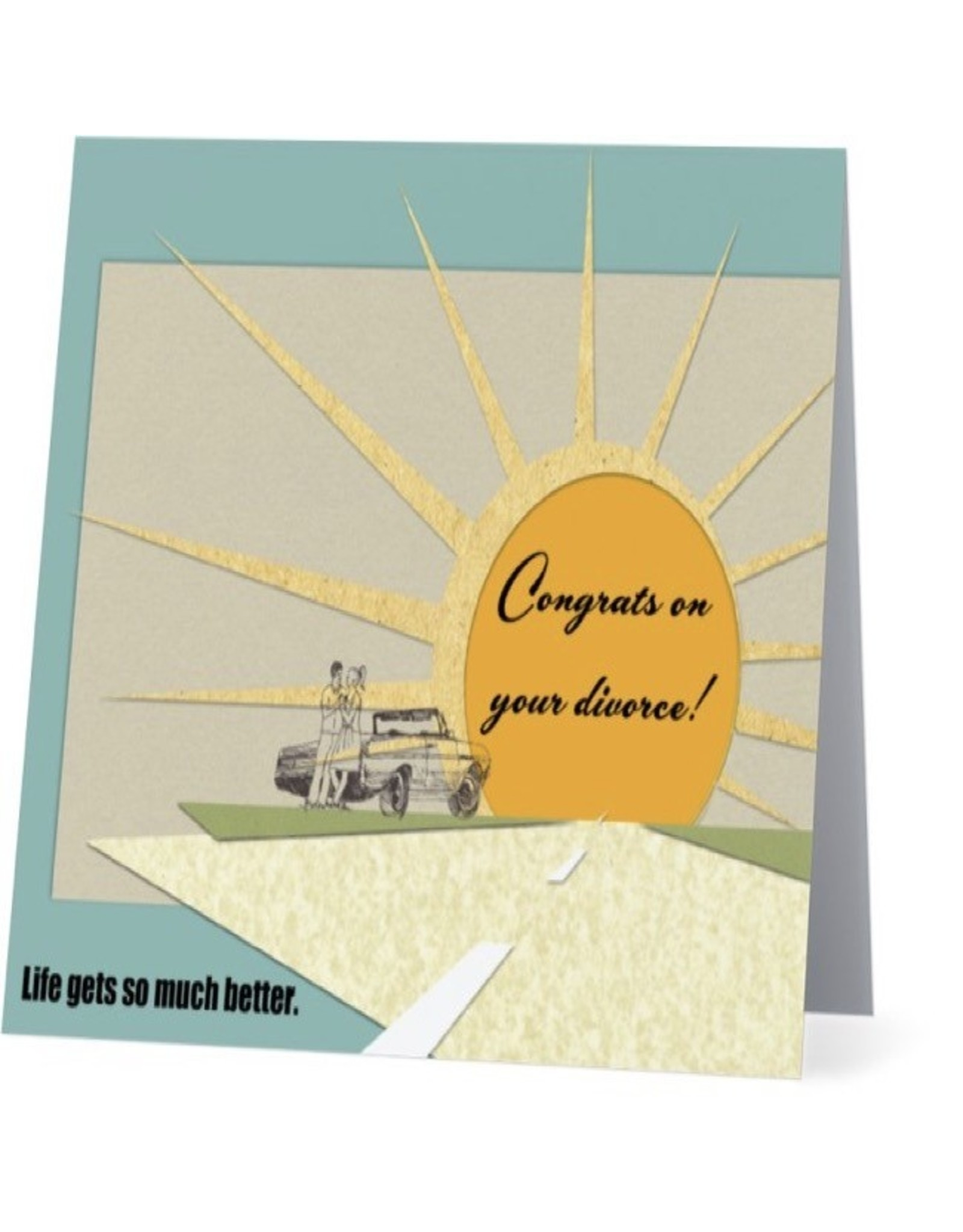 Card #012 - Congrats On Your Divorce