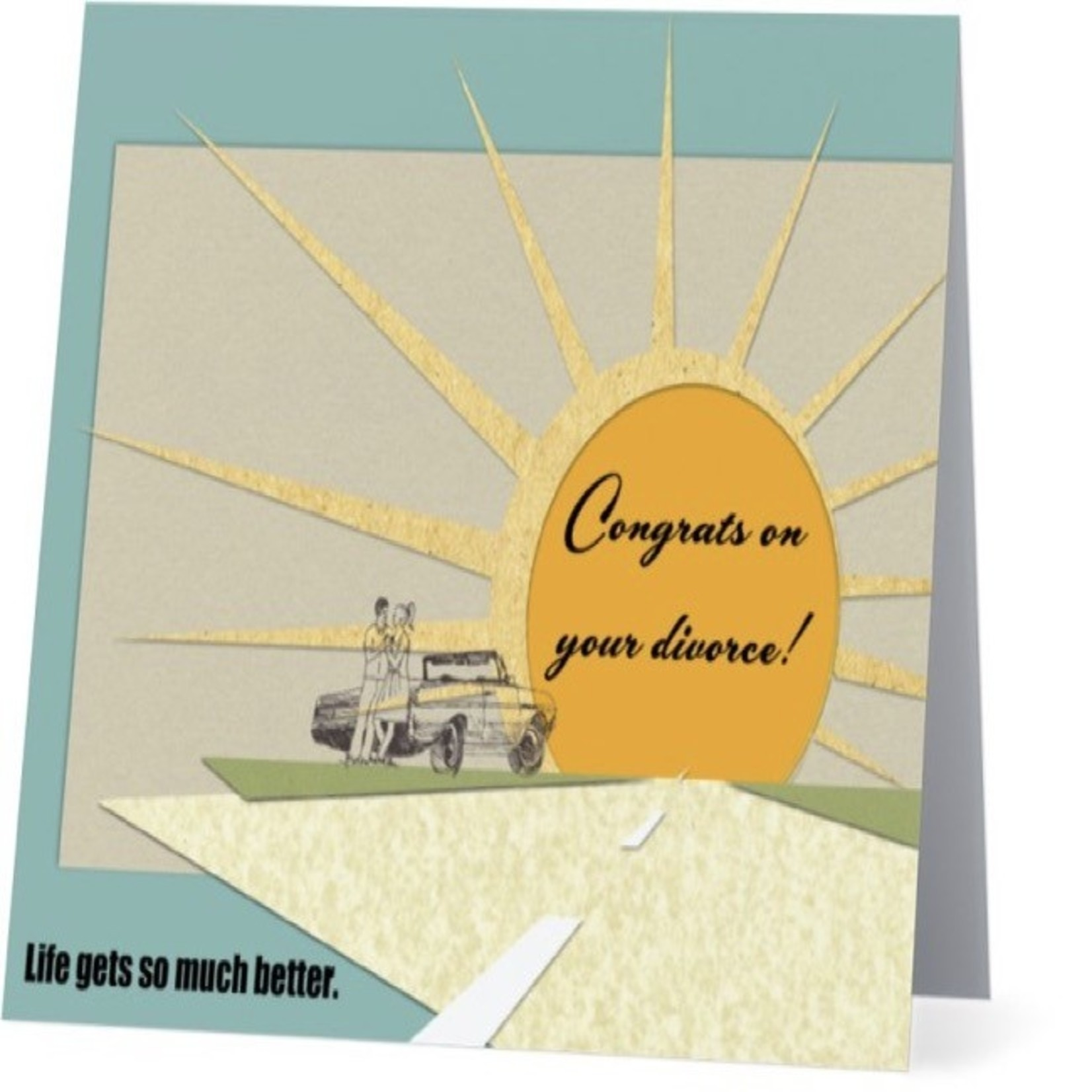 Bad Annie's Card #012 - Congrats On Your Divorce