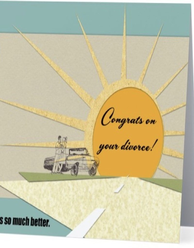 Annies Card #012 - Congrats On Your Divorce