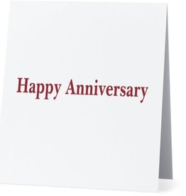 Bad Annie's Annies Card #006 - Happy Anniversary - Zombie