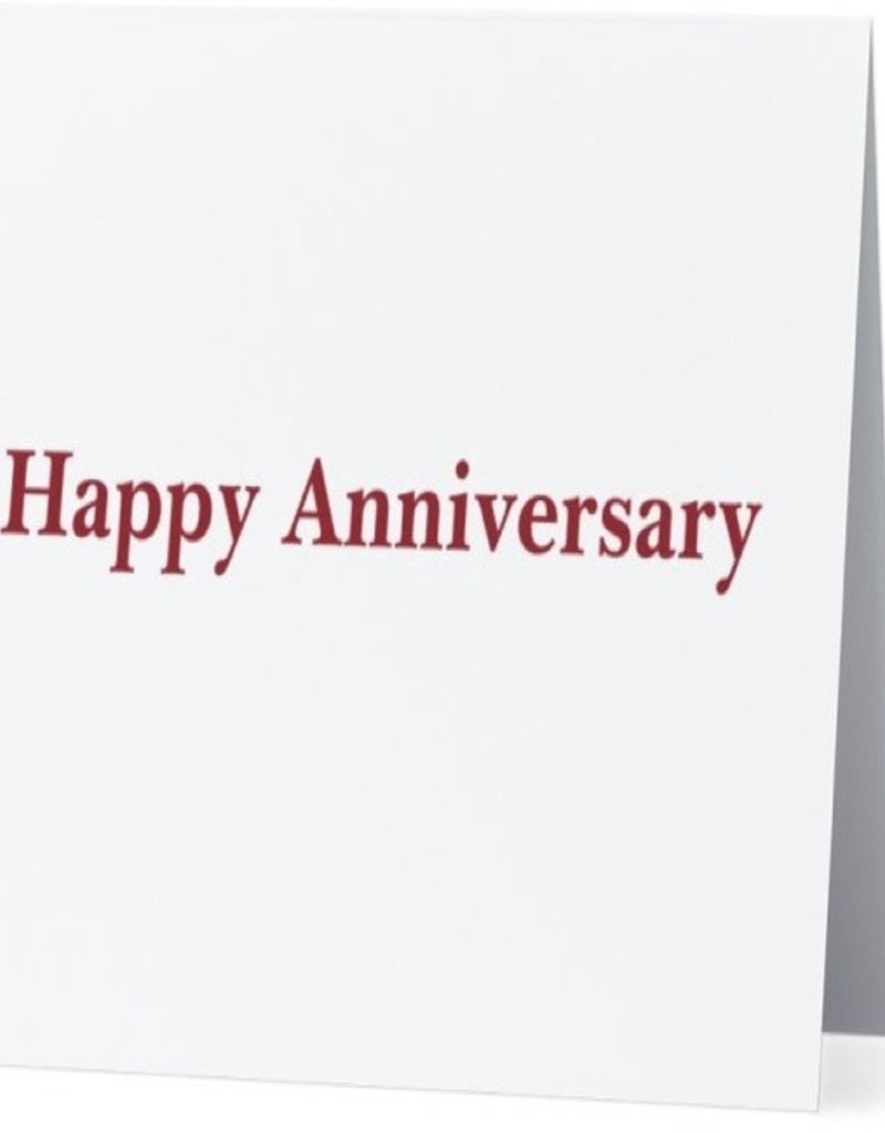 Annies Card #006 - Happy Anniversary - Zombie