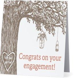 Card #004 - Congrats On Engagement, Pinterest Wedding