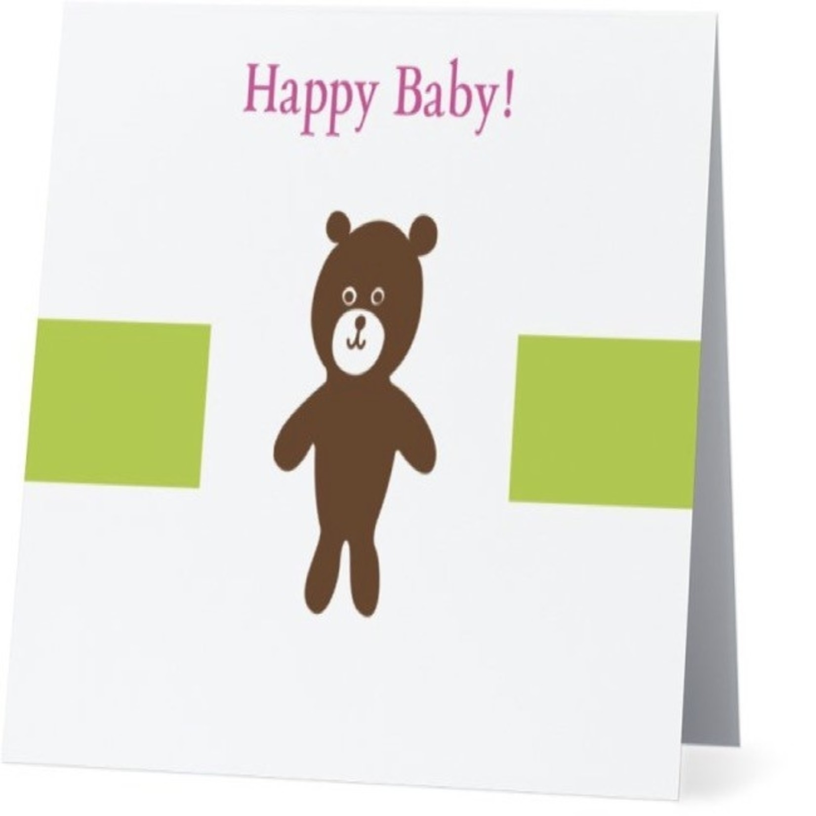 Bad Annie's Card #030 - Happy Baby