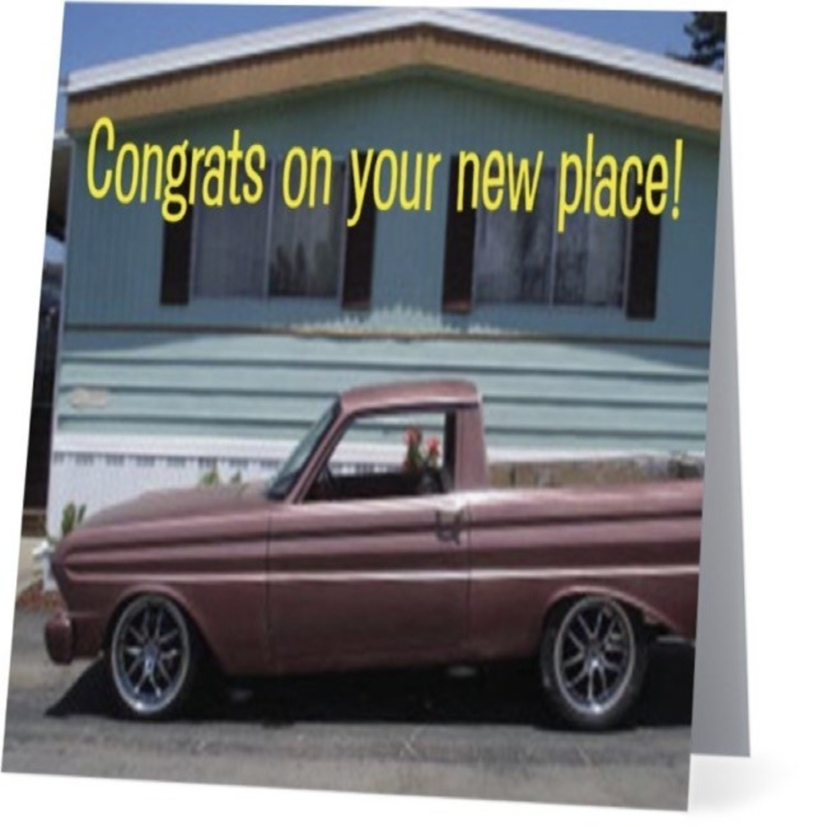 Bad Annie's Card #033 - Congrats On Your New Place