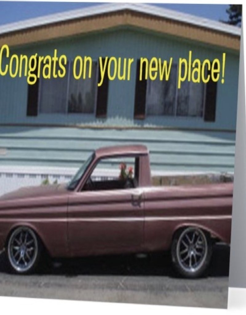 Annies Card #033 - Congrats On Your New Place