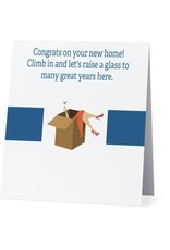 Card #032 - Congrats on Home, Many Great Years
