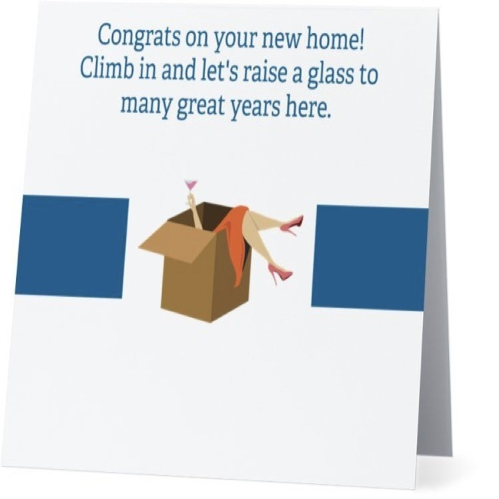 Bad Annie's Card #032 - Congrats on Home, Many Great Years