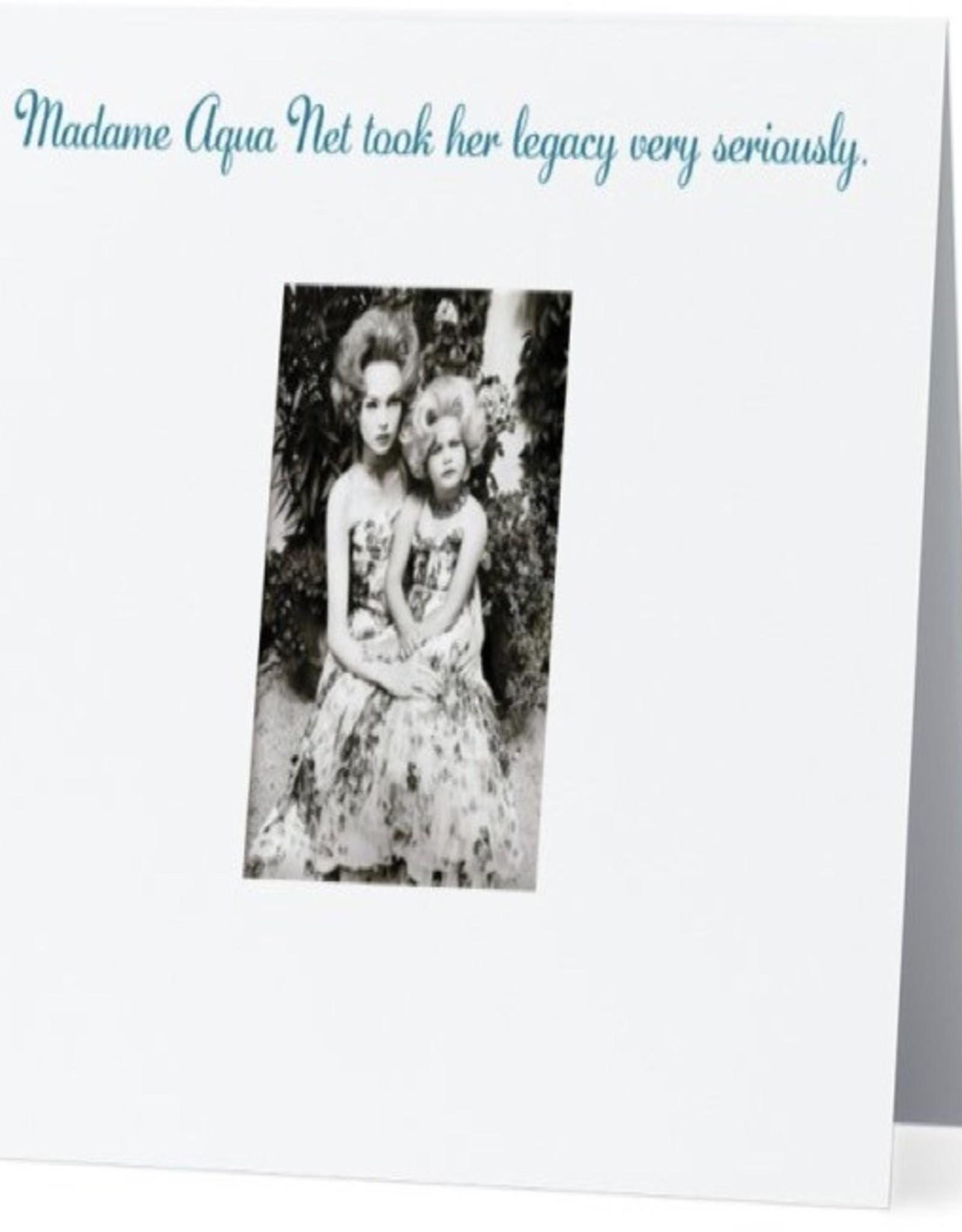 Card #070 - Madam Aqua Net