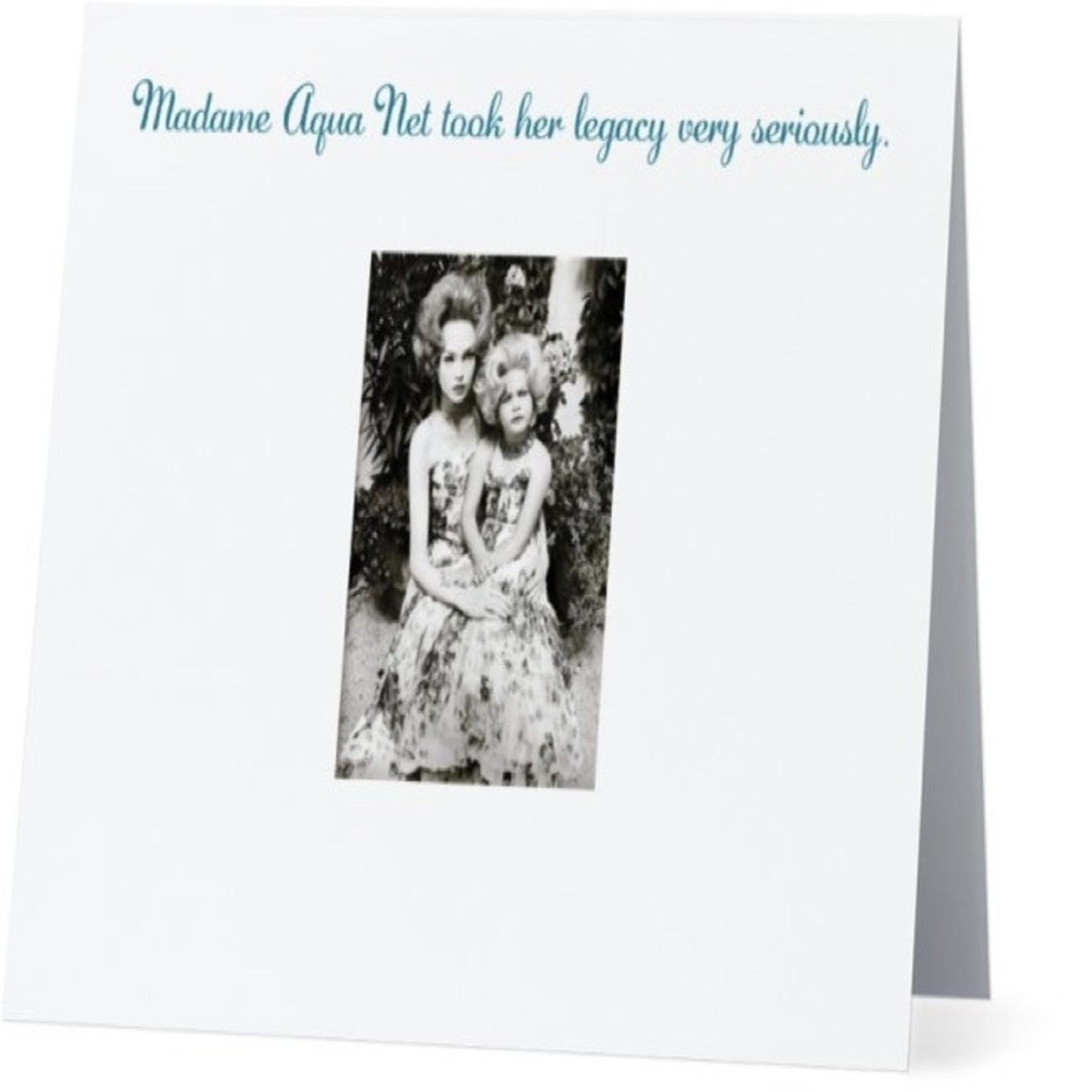 Bad Annie's Card #070 - Madam Aqua Net
