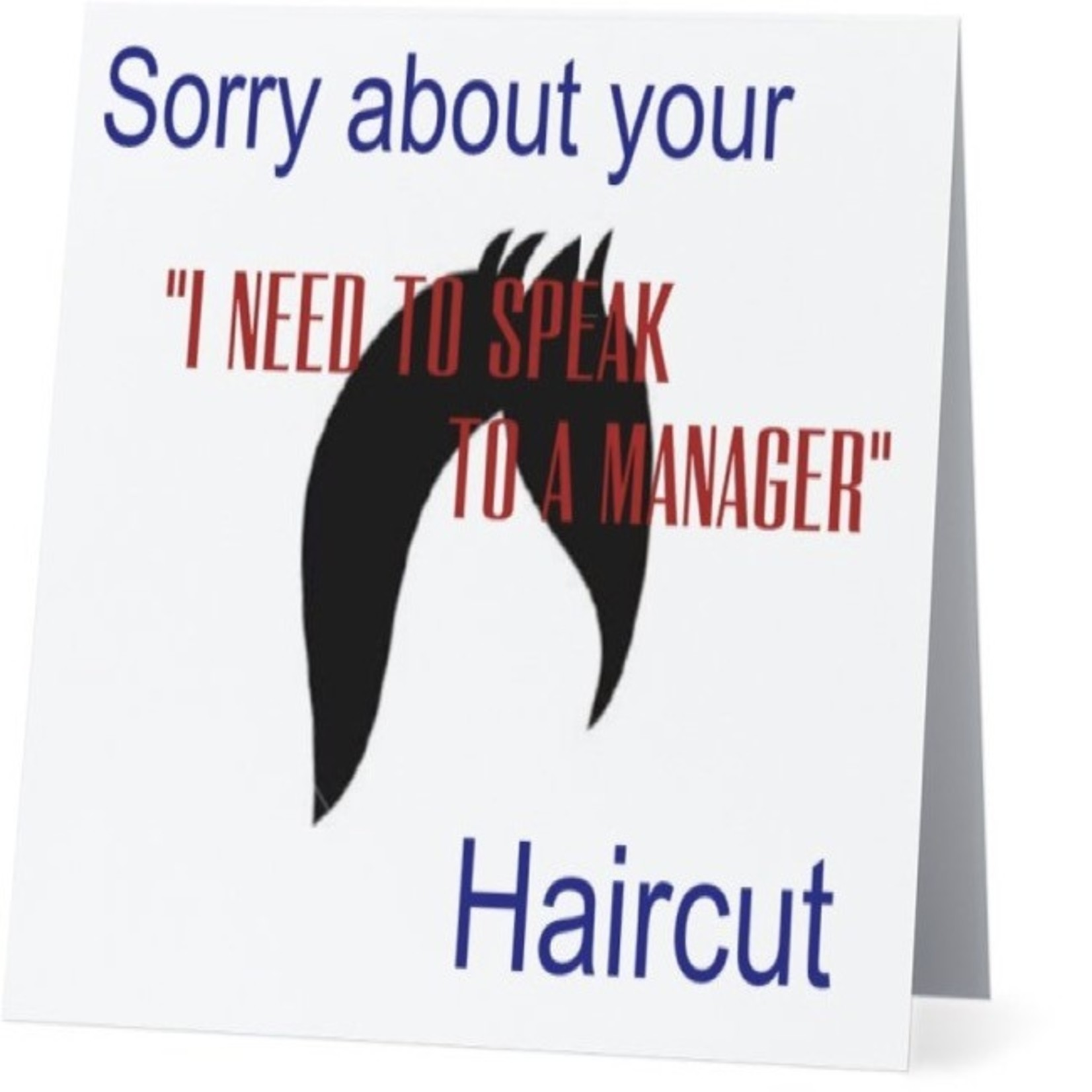 Bad Annie's Card #087 - Sorry About Your Haircut