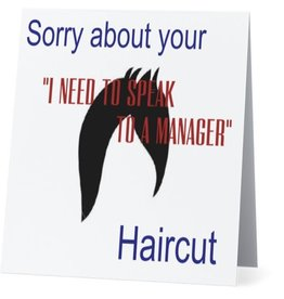 Card #087 - Sorry About Your Haircut