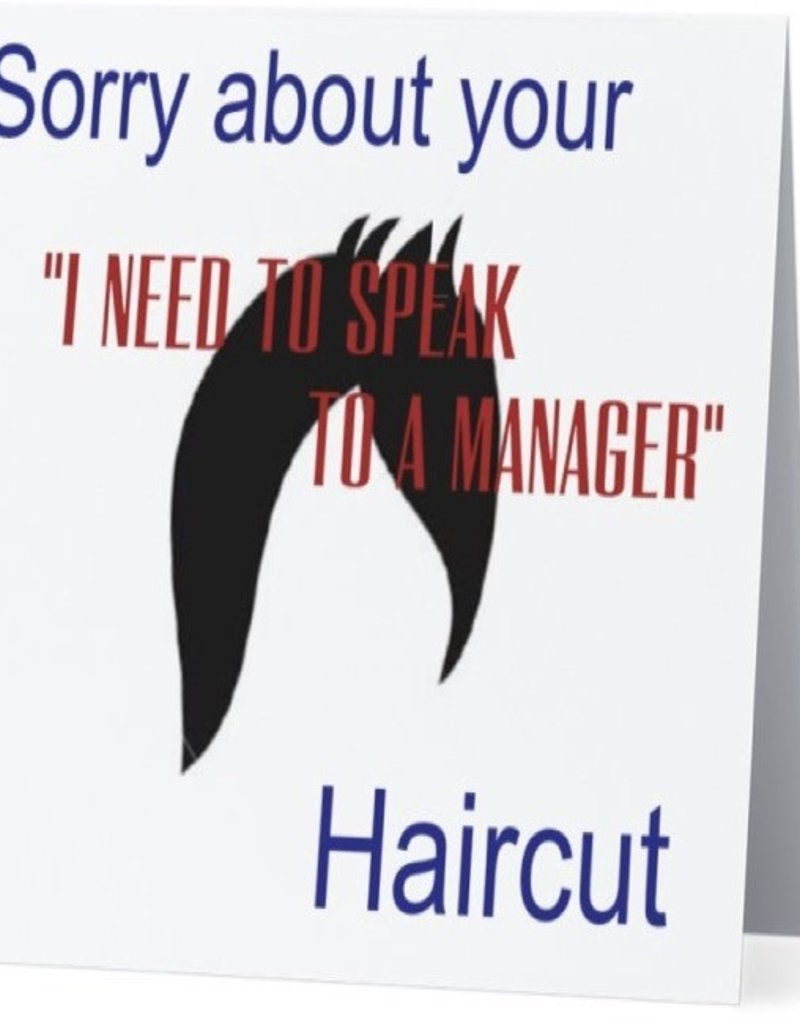 Annies Card #087 - Sorry About Your Haircut