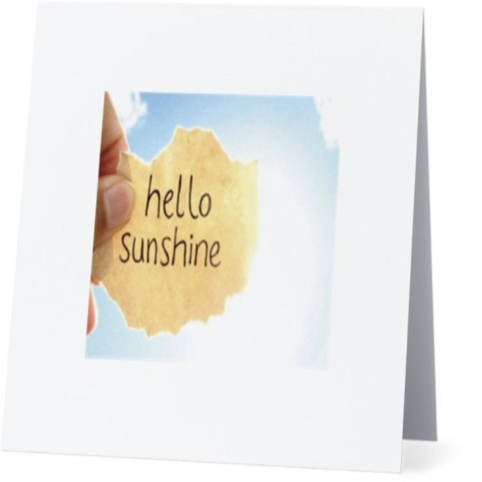 Bad Annie's Card #047 - Hello Sunshine