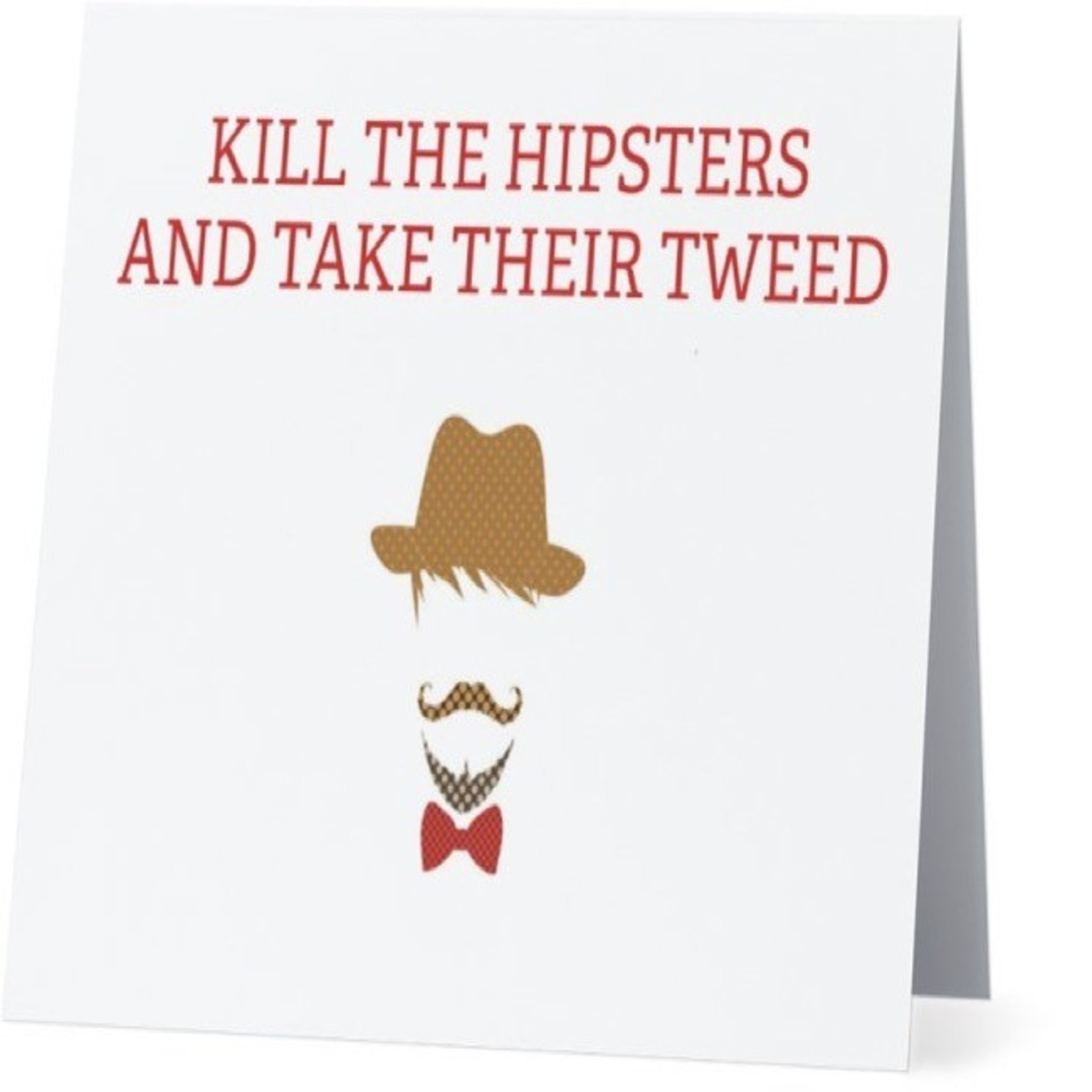 Bad Annie's Card #077 - Kill All The Hipsters