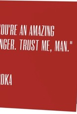 Annies Card #051 - Amazing Singer, Vodka