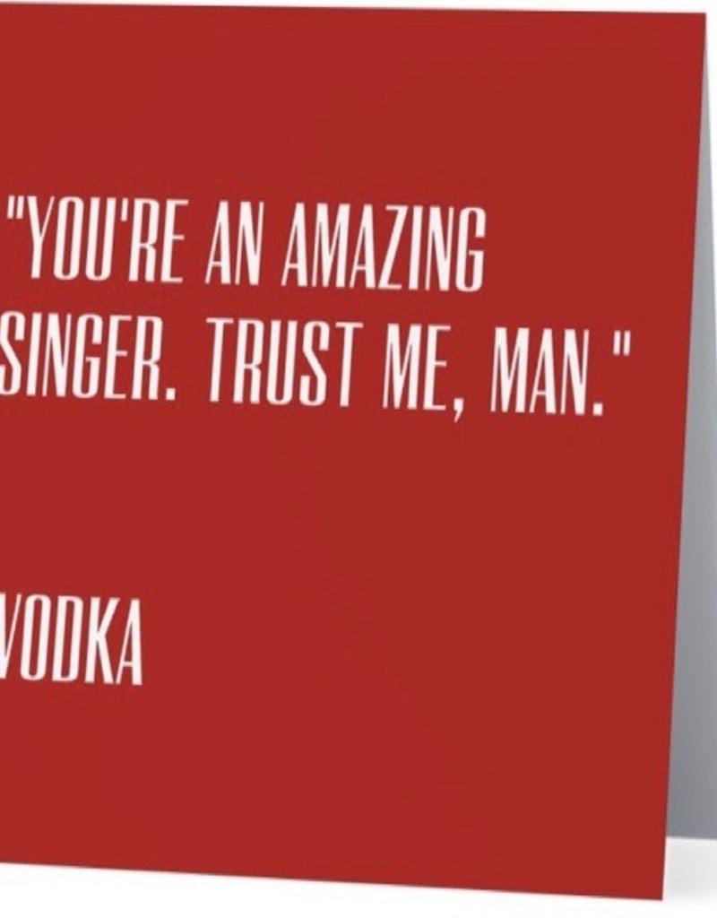 Card #051 - Amazing Singer, Vodka
