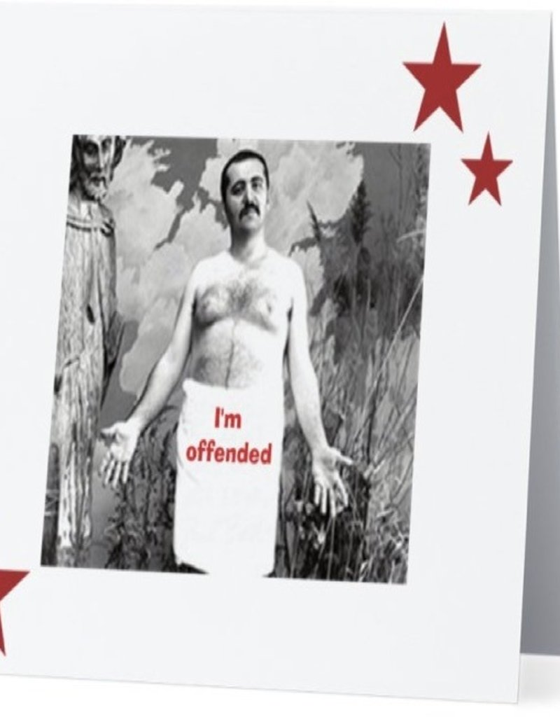 Annies Card #020 - Im Offended