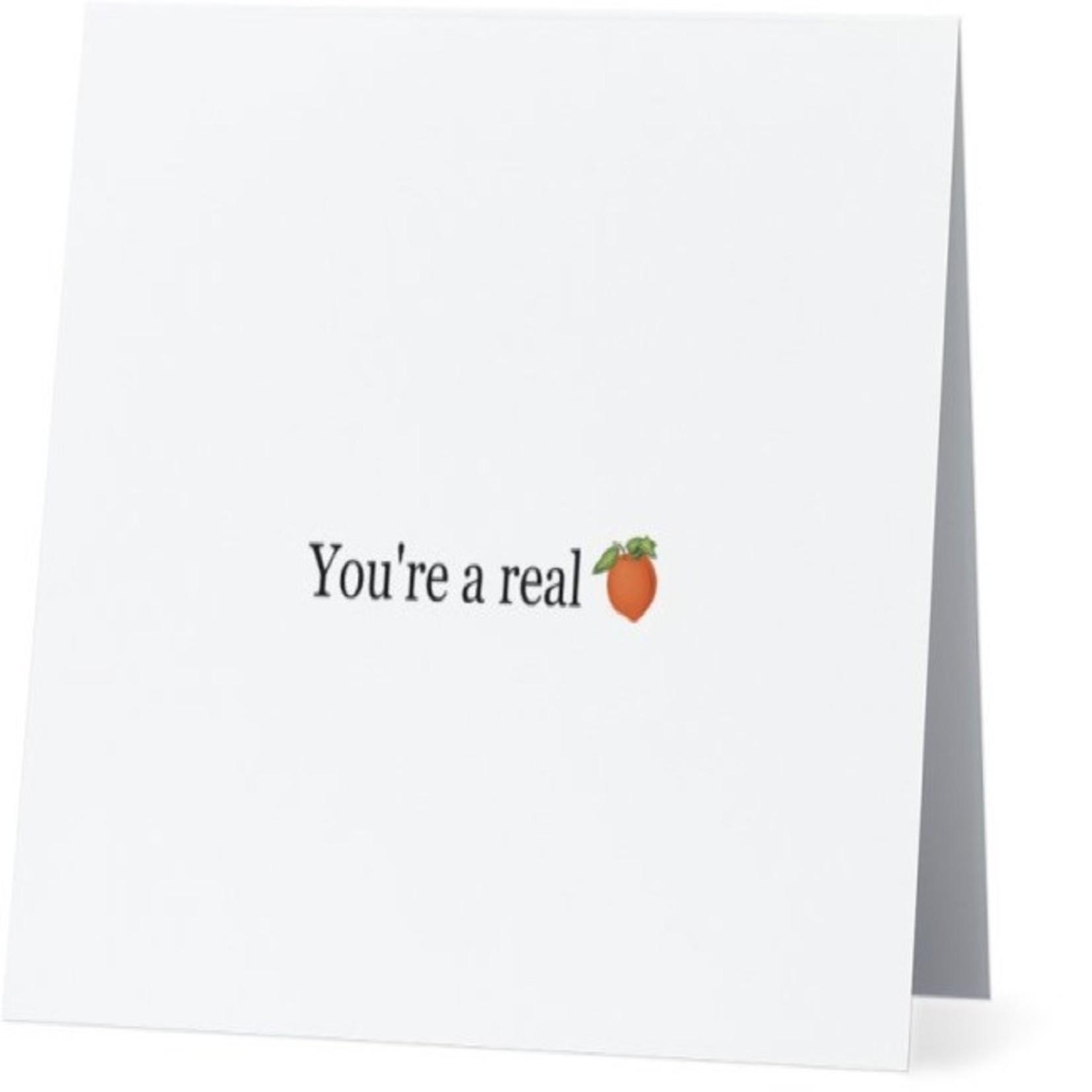Bad Annie's Card #039 - You're A Peach
