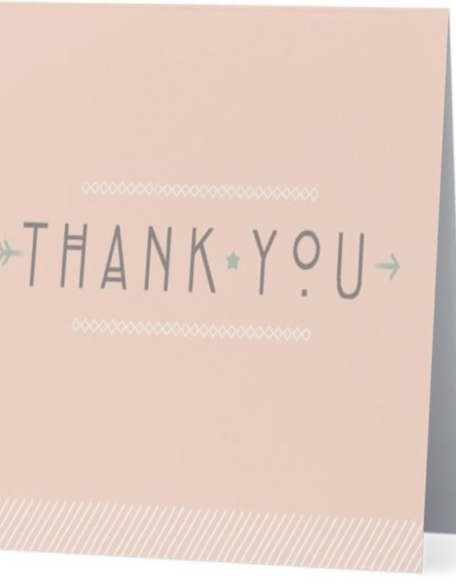 Card #038 - Thank You Pink Arrow