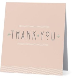 Card #038 - Thank You Pink Arrow