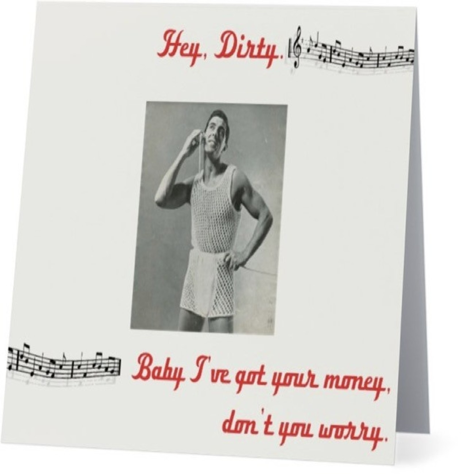 Bad Annie's Card #079 - Hey Dirty