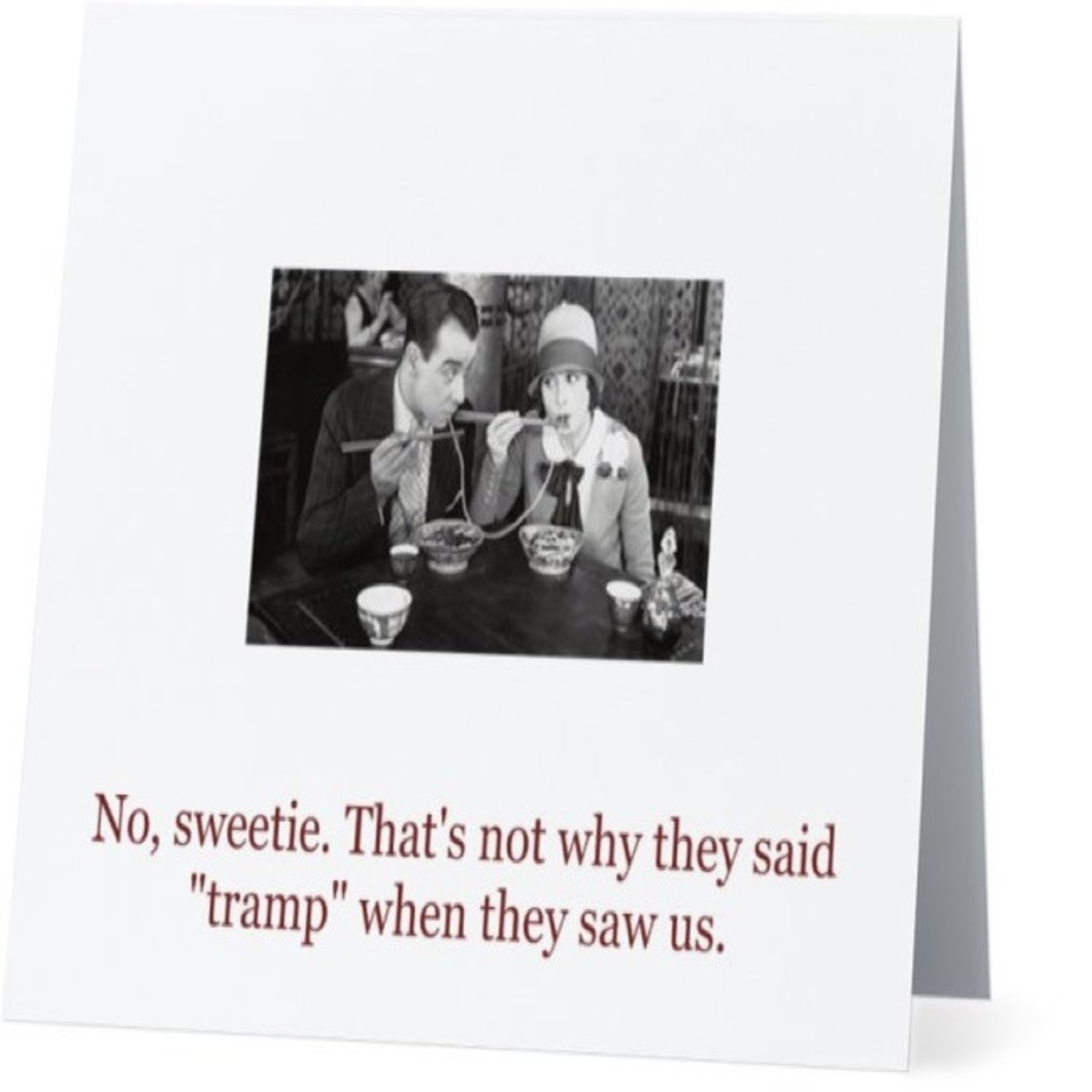 Bad Annie's Card #064 - Thats Not Why They Said Tramp