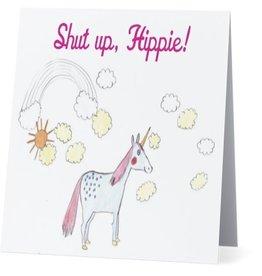Card #074 - Shut Up Hippie