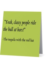 Card #053 - Ride The Bull Tequila