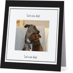 Bad Annie's Card #061 - Lets Eat Dog