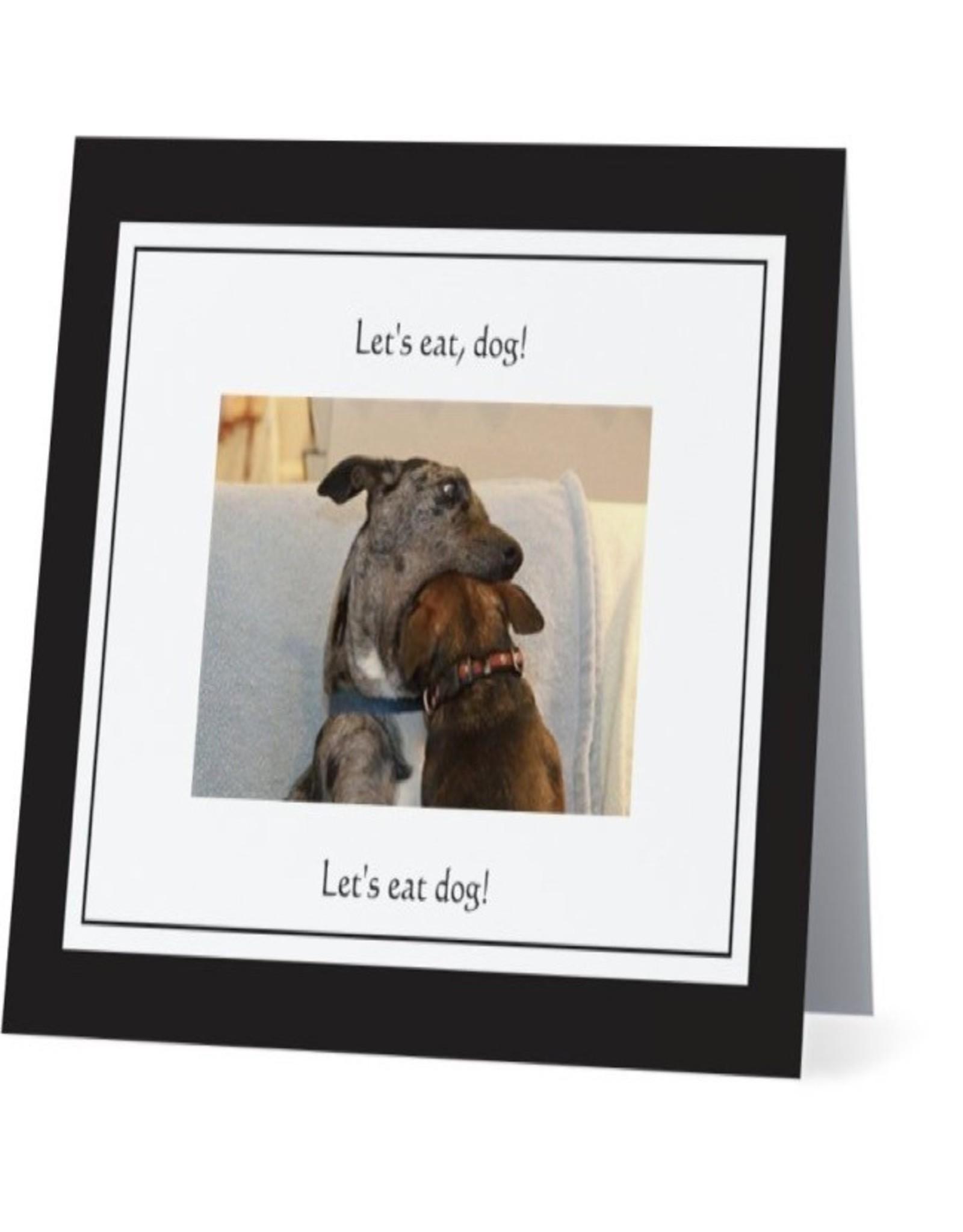 Card #061 - Lets Eat Dog