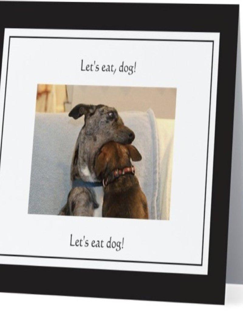 Annies Card #061 - Lets Eat Dog