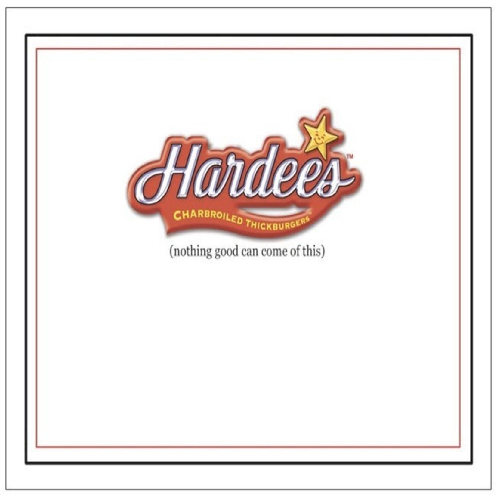 Bad Annie's Card #071 - Oh No Hardees