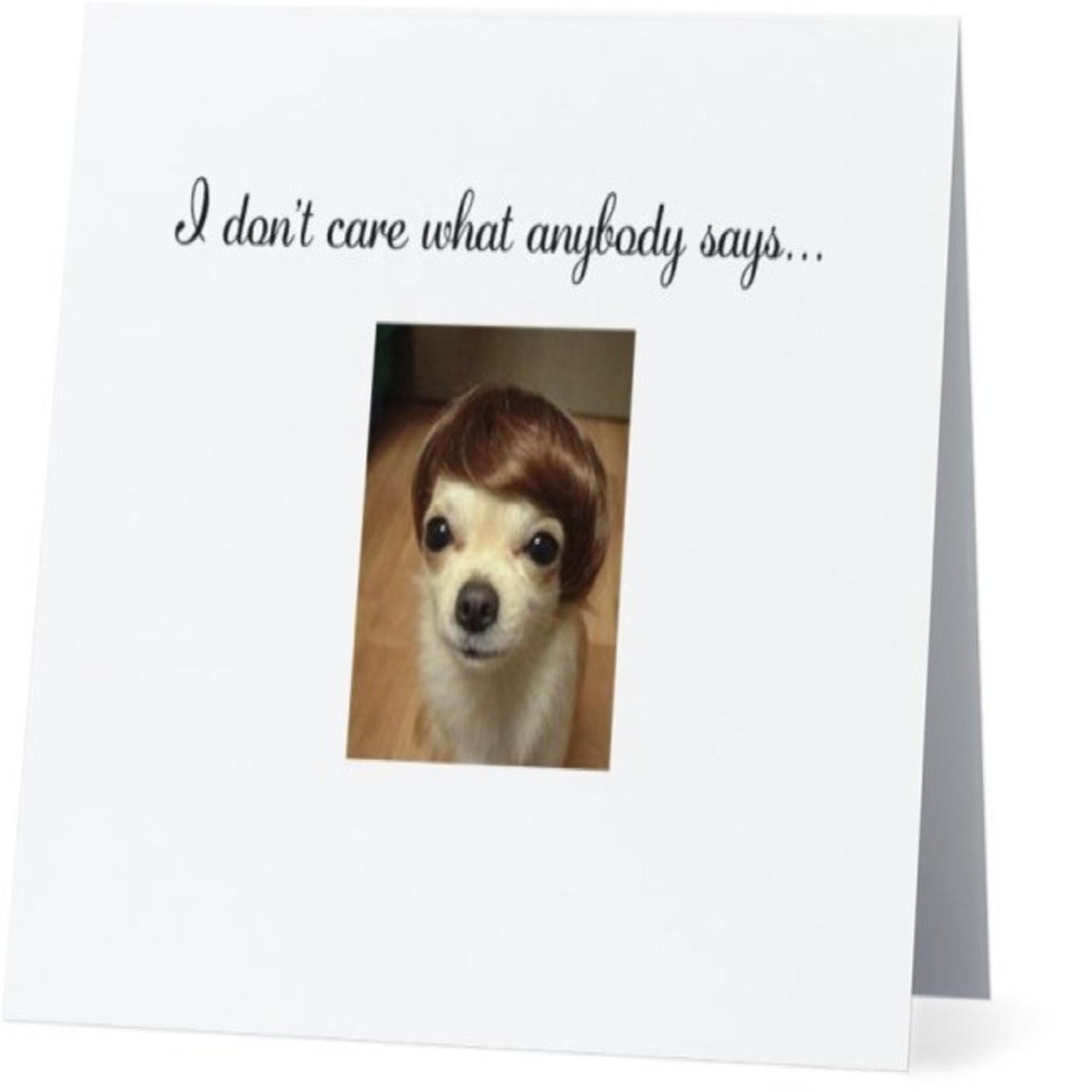 Bad Annie's Card #063 - Dorothy Hamill Haircut