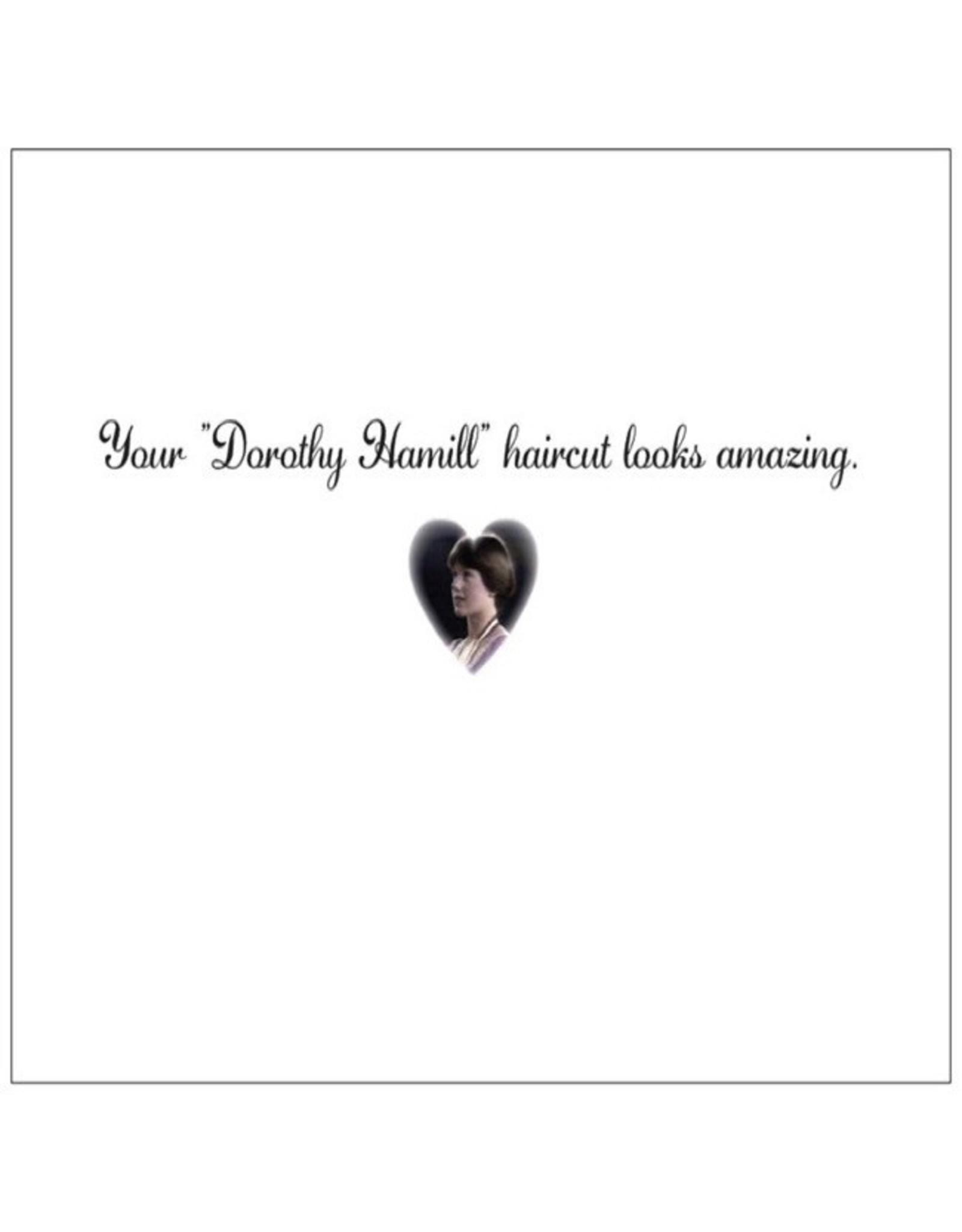 Card #063 - Dorothy Hamill Haircut