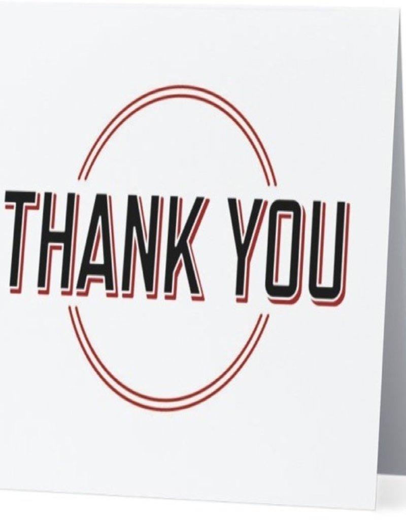 Annies Card #037 - Thank You Circle