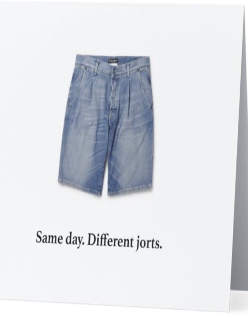 Annies Card #086 - Same Day, Different Jorts